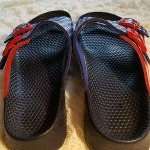 Birkenstock Shoes - 😎 BIRKENSTOCK BIRKIS AMERICA FLAG SANDALS